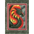 Fire Dragon Portrait